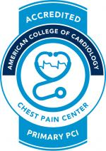Chest Pain Center Primary PCI accreditation seal